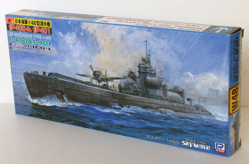 Pit-Road Skywave W-48 IJN Submarine I-400 & I-401 1/700 Scale Kit