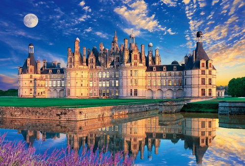 Beverly Jigsaw Puzzle 51-216 Chateau de Chambord France (1000 Pieces)