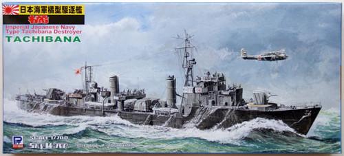Pit-Road Skywave W-77 IJN Destroyer TACHIBANA 1/700 Scale Kit