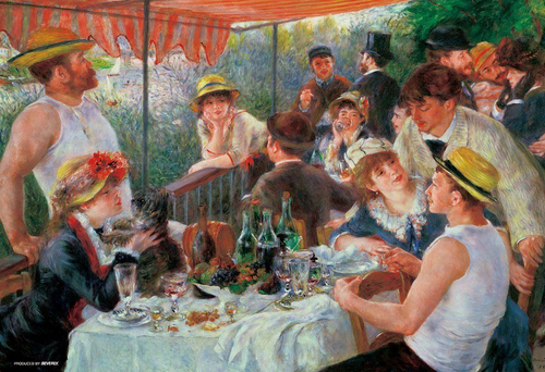 Beverly Jigsaw Puzzle 93-106 Lunch of people on the boating (300 Pieces)