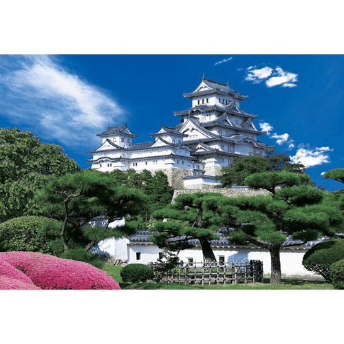 Beverly Jigsaw Puzzle M81-832 Japanese Scenery Himeji Castle (1000 S-Pieces)