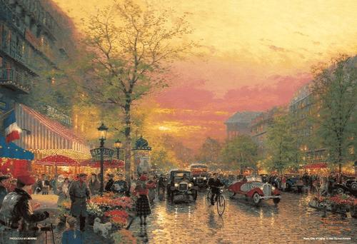 Beverly Jigsaw Puzzle M81-847 Thomas Kinkade Paris, City Of Light(1000 S-Pieces)