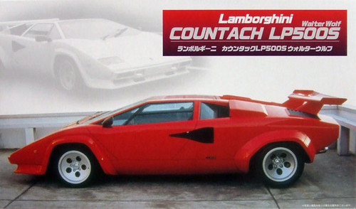 Fujimi RS-08 Lamborghini Countach LP500S 1/24 Scale Kit