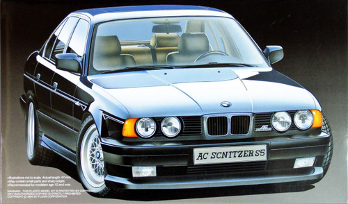 Fujimi RS-10 BMW Schnitzer S5 1/24 Scale Kit 120669