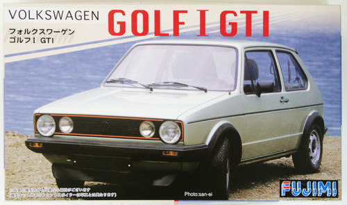 Fujimi RS-16 Volkswagen Golf I GTI 1/24 Scale Kit 122755