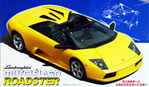 Fujimi RS-24 Murcielago Roadster 1/24 Scale Kit