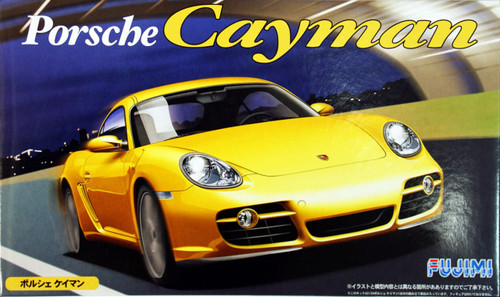 Fujimi RS-30 Porsche Cayman 1/24 Scale Kit 122977