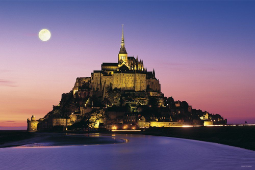 Yanoman Jigsaw Puzzle 15-23 Mont Saint-Michel (1500 S-Pieces)