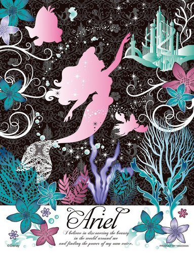 Yanoman Jigsaw Puzzle 42-05 Disney The Little Mermaid Ariel (300 Small Pieces)