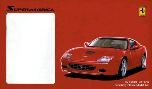 Fujimi RS-48 Ferrari Super America 1/24 Scale Kit 122731