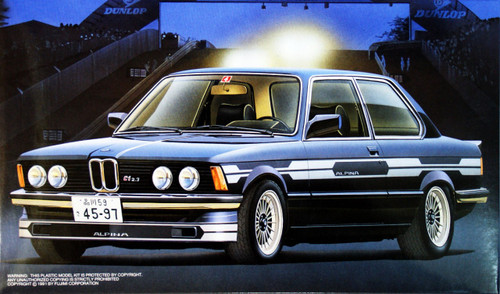 Fujimi RS-51 BMW 323i Alpina C1-2.3 1/24 Scale Kit 124971