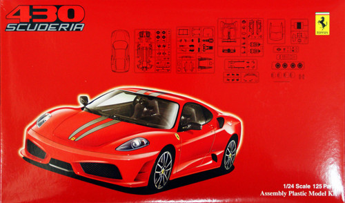 Fujimi RS-55 Ferrari F430 Scuderia 1/24 Scale Kit