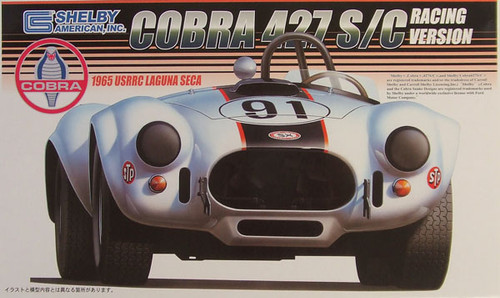 Fujimi RS-56 Shelby Cobra 427 S/C 1965 USRRC 1/24 Scale Kit