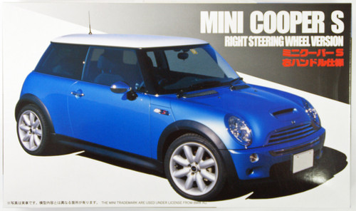 Fujimi RS-64 New Mini Cooper S 1/24 Scale Kit
