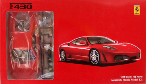 Fujimi RS-67 Ferrari F430 1/24 Scale Kit 122557