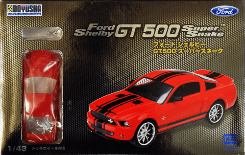 Doyusha 002322 Ford Shelby GT 500 Super Snake 1/43 Scale plastic model Kit