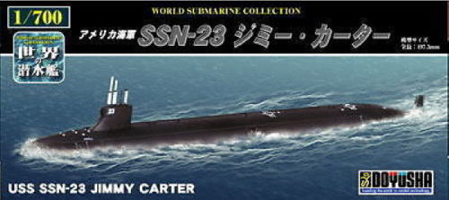 Doyusha 301043 USS SSN-23 Jimmy Carter Submarine 1/700 Scale Kit