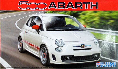 Fujimi RS-80 Abarth 500 1/24 Scale Kit