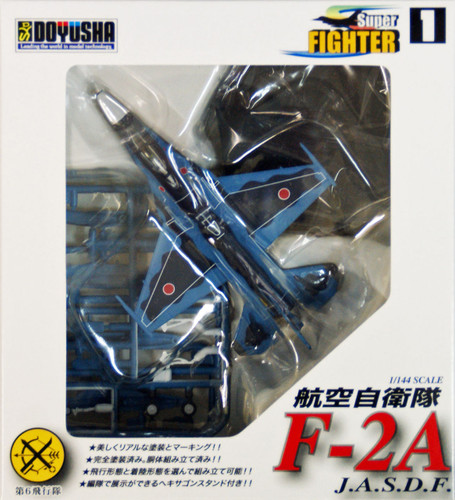Doyusha 402016 JASDF Super Fighter F-2A 1/144 Scale Finished Model