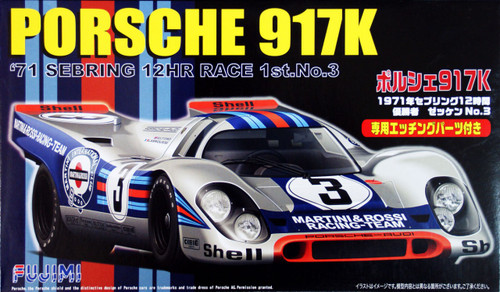 Fujimi RS-84 Porsche 917K 1971 Sebring 12HR Race 1/24 Scale Kit