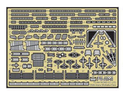 Fujimi TK 114620 Photo Etched Parts for Chibi-maru Kantai Fleet Shokaku/Zuikaku
