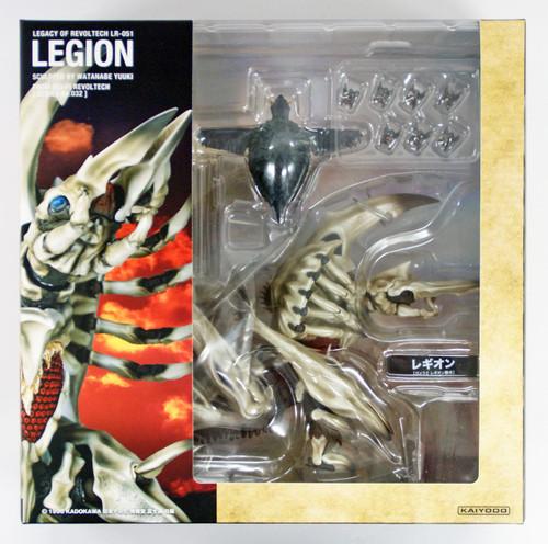 """Kaiyodo Legacy of Revoltech LR-051 """"Legion"""" Non-scale Action Figure"""