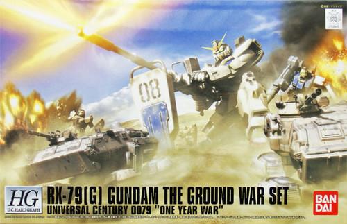 Bandai 599452 Gundam RX-79(G) THE GROUND WAR SET One YEAR WAR 1/144 Scale Kit