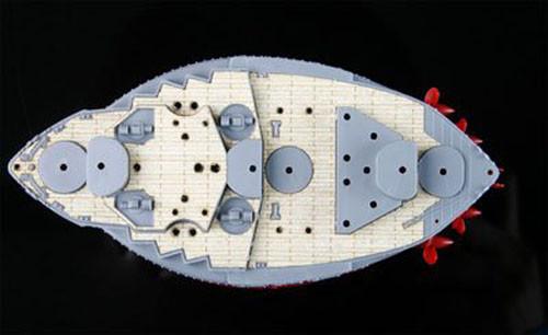 Fujimi 114651 Wooden Deck Parts for Chibi-maru Kantai Ise/ Hyuga (BattleShip/ Aircraft Carrier)
