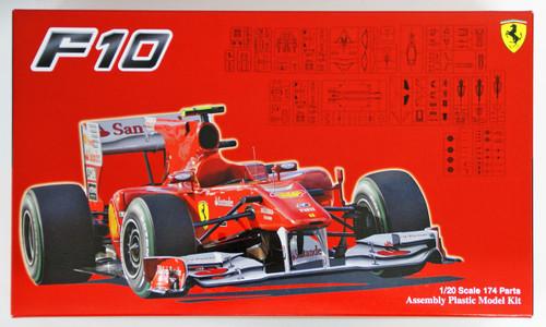 Fujimi GP19 Ferrari F10 (Japan/ Germany/ Italy GP) 1/20 scale kit