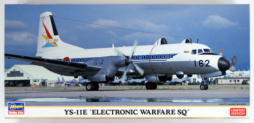 "Hasegawa 10819 YS-11E ""Electronic Warfare Support Unit"" 1/144 scale kit"