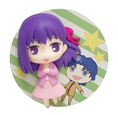 Wave DF006 Fate/Stay Night Unlimited Blade Works Matou Sakura/Shinji 2.5D Badge