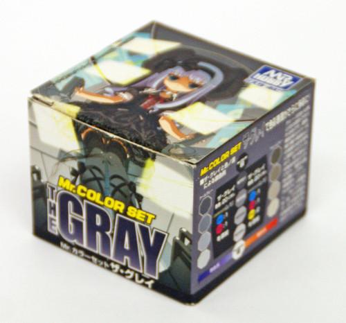 GSI Creos Mr.Hobby CS564 Mr. Color Set The Gray