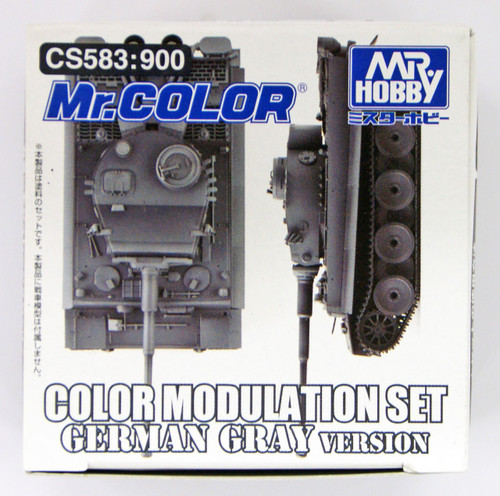 GSI Creos Mr.Hobby CS583 Mr. Color Modulation Set German Gray Version