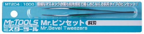 GSI Creos Mr.Hobby MT204 Mr. Bevel Tweezers