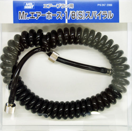 GSI Creos Mr.Hobby PS247 Mr. Air Hose 1/8 (S) Spiral