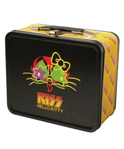 Medicom MLE KISS x HELLO KitTY Tin Box Face 4530956306964