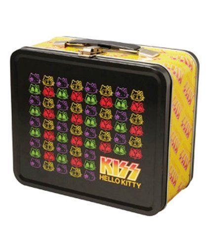 Medicom MLE KISS x HELLO KitTY Tin Box Pattern 4530956306971
