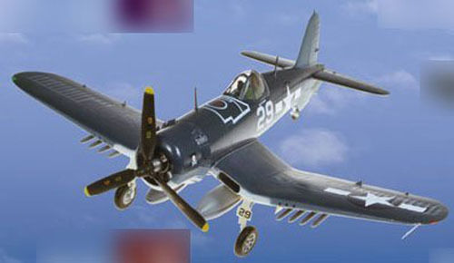 Doyusha 500545 Zero Fighter Type 52 No.15 F4U Corsair 1/72 Scale Pre-painted model