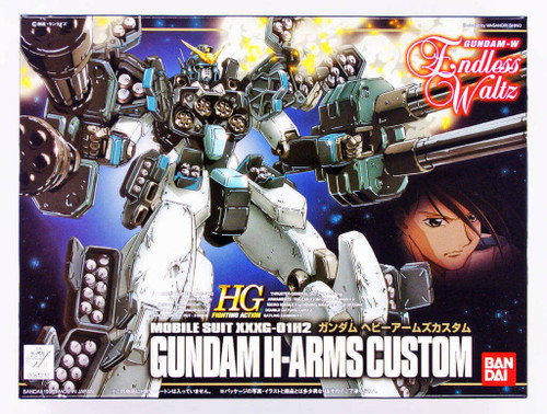 Bandai 612102 Gundam W Endless Waltz Gundam H-Arms Custom 1/144 Scale Kit