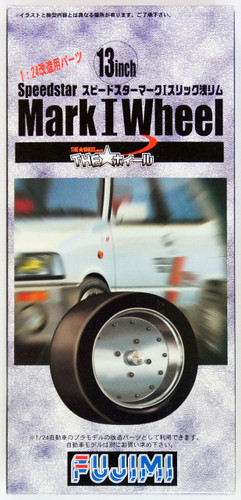 Fujimi TW05 Speedstar Mark I Wheel & Tire Set 13 inch 1/24 Scale Kit