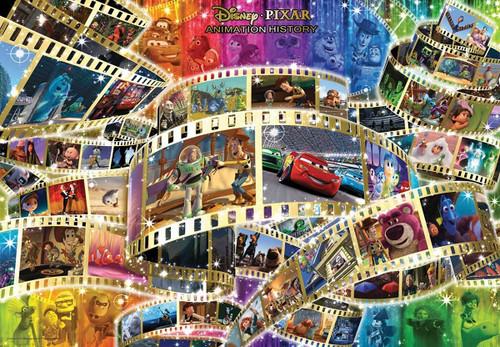 Tenyo Japan Jigsaw Puzzle D-1000-473 Disney/Pixar Animation History (1000 Pieces)