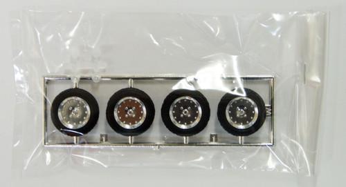 Fujimi TW16 Speedstar Mark I Wheel & Tire Set 12 inch 1/24 Scale Kit