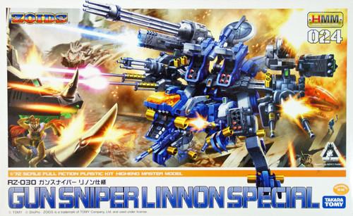 Kotobukiya ZD044 Zoids Gun Sniper Leena Special 1/72 Scale Kit
