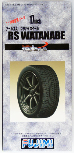 Fujimi TW22 RS Watanabe Wheel & Tire Set 17 inch 1/24 Scale Kit