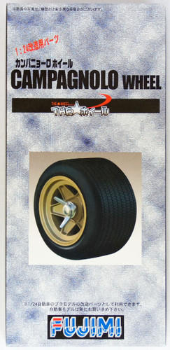 Fujimi TW23 Campagnolo Wheel & Tire Set 1/24 Scale Kit