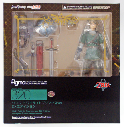 Good Smile The Legend of Zelda figma 320 Link Twilight Princess DX Edition Figure