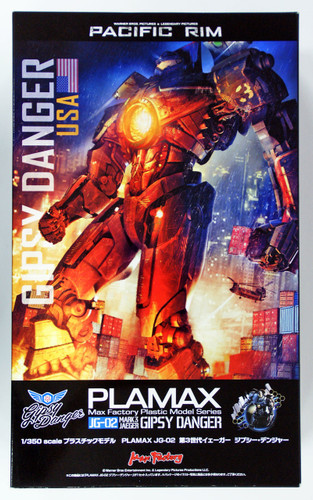 Max Factory PLAMAX JG-02 Pacific Rim Mark 3 Jaeger Gipsy Danger 1/350 Scale Kit