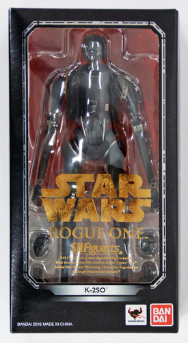 "Bandai 094593 S.H. Figuarts STAR WARS Series Rogue One ""K-2SO"" Figure"