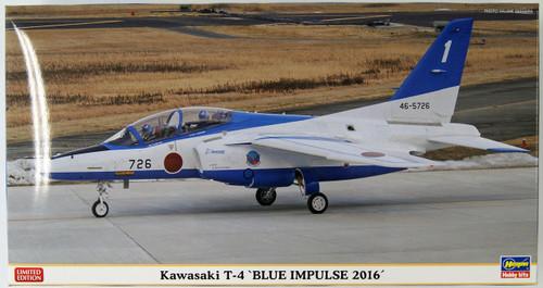 Hasegawa 07442 Kawasaki T-4 Blue Impulse 2016 1/48 Scale Kit