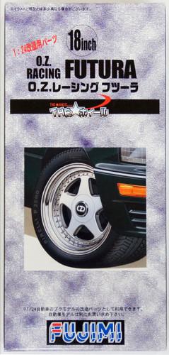 Fujimi TW42 O.Z.Racing Futura Wheel & Tire Set 18 inch 1/24 Scale Kit
